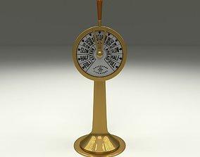 Ship Engine Telegraph 3D asset