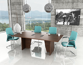meeting room vray 3D model