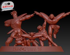 gurdo Dragon Ball Z - The Ginyu Force 3D print model