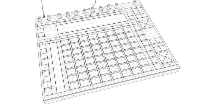 ableton-push-2-midi-controller-3d-model-