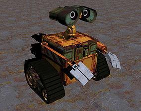 Wall-e 3D model characters