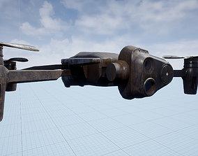 3D asset Beholder Drone