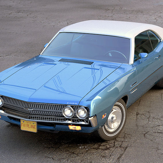 1970 Fairlane Coupe