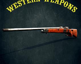 Winchester model 70 3D asset