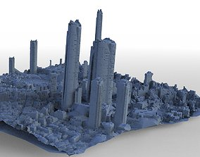 3D Asian City of the Future