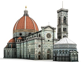 3D Florence Cathedral
