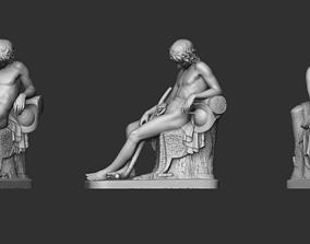 3D printable model Boy Statue