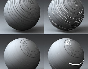 3D model Syfy Displacement Shader F 001 m