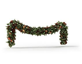 Christmas Garland 3D model