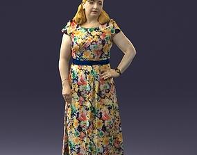 3D model Flower dress 0623