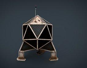 Sci-Fi Colony building 3D model