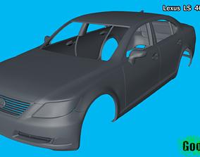 Lexus LS 460 Vehicle 3D print model