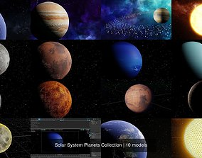 Solar System Planets Collection 3D