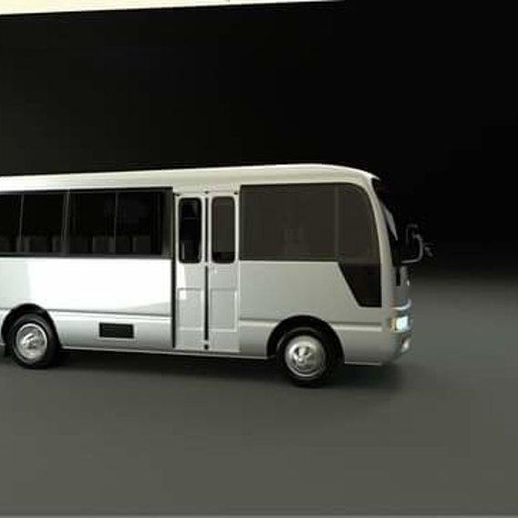 Nissan Civilian 3d model