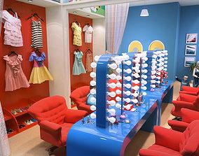 3D model Children amusement park 06