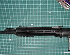3D print model SVD ris handguard Airsoft