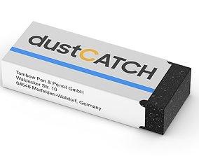 Eraser stationery 3D