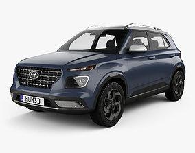 crossover Hyundai Venue 2020 3D