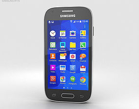 3D model Samsung Galaxy Ace Style Dark Gray