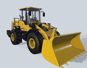 Front loader L956F SDLG 3D model