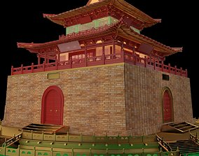 Chinese ancient house historic 3D