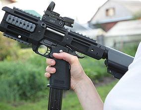 3D printable model Hi-Capa 1911 airsoft pistol PDW 2