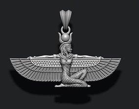 3D print model ancient Isis pendant