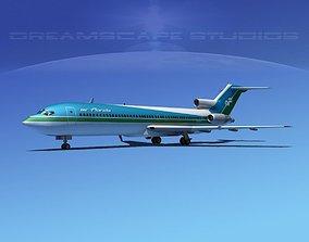 3D model Boeing 727-200 Air Florida