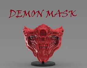 DEMON MASK 3D printable model
