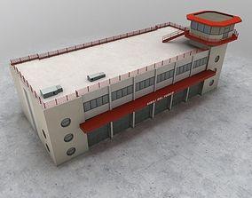 3D asset LIMC Fire Department