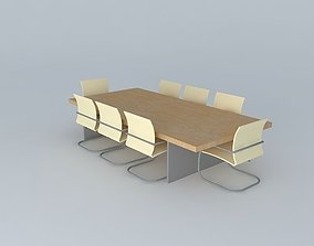 Conference Table date 3D