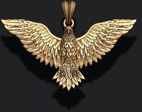 Eagle pendant hawk 3D printable model