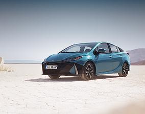 3D model Hybrid sedan unbranded