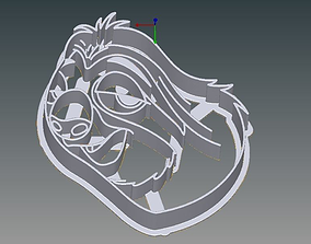 Zootopia Set of Cookie Cutters 3D printable model