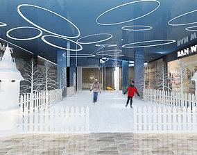 interior lobby 3D model