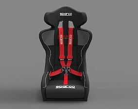 racing seat 3D print model