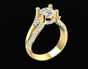 3D print model 1696 Diamond ring