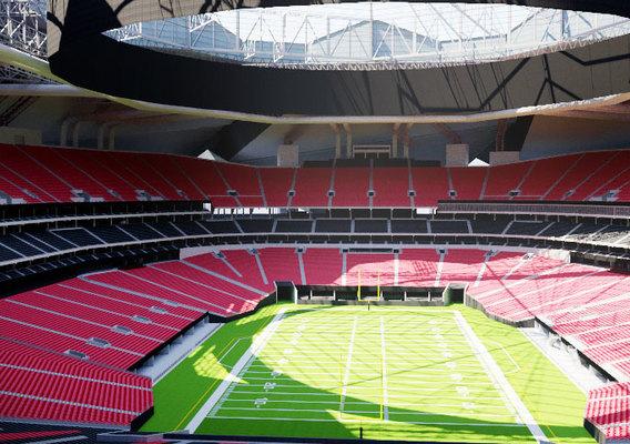Mercedes-Benz Stadium Atlanta 3D model