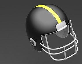 field football helmet 3D
