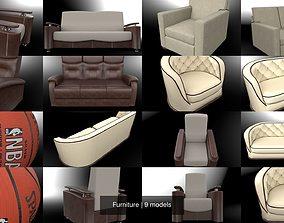 Furniture vray 3D model