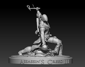 Assassins Creed III 3D print model
