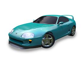 Toyota Supra mk IV 3D model