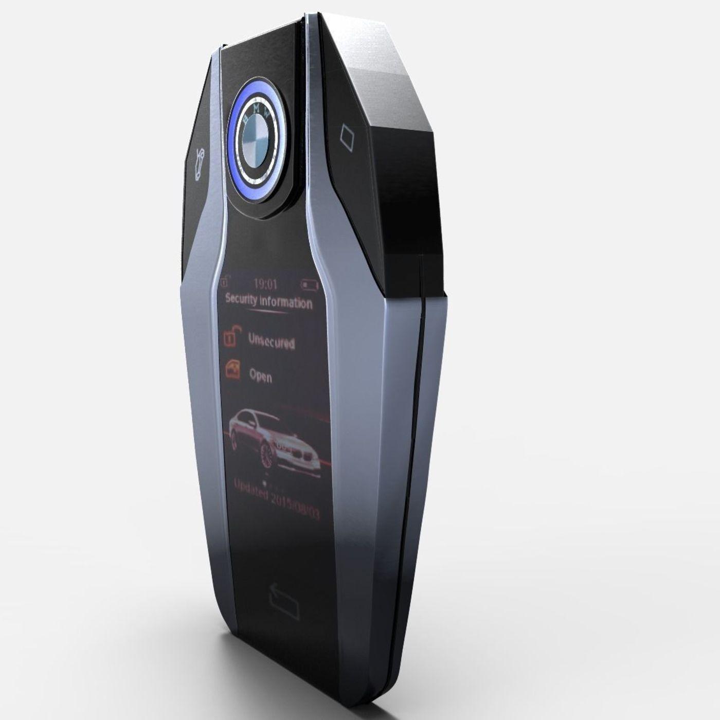 BMW Car Key Touch 7 | CGTrader