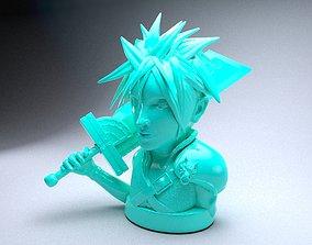 Final Fantasy Cloud Strife 3D printable model