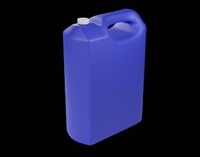 Plastic Liquid Container 3D asset