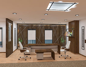 office furniture space 3D model