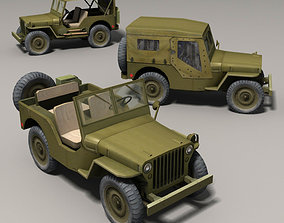 3D model Willys Jeep