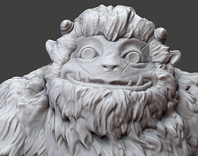 3D print model Bumble The Abominable Snowman