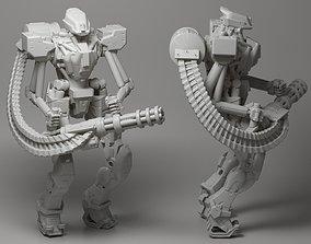 Droid 3D printable model