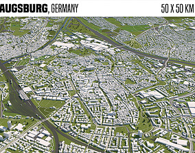 Augsburg Germany 3D model